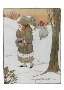 Week 100b: From Karen (USA). Illustration by Lucy Locket. From _The Real Mother Goose_, Blanche Fisher Wright.