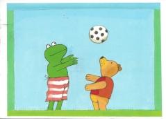 Week 82: From Marjan (Netherlands). Illustration by Max Velthuijs. Kikker (Frog).
