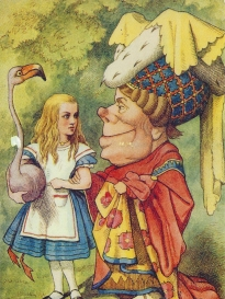 Week 122: From Pam (USA): Alice in Wonderland.