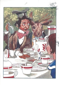 Week 121: From Pam (USA). Illustration by Charles Robinson. From Lewis Carroll's _Alice in Wonderland_.