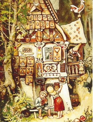 Week 106: From Pam (USA): Illustration by Hermann Vogel for _Hansel and Gretel_.