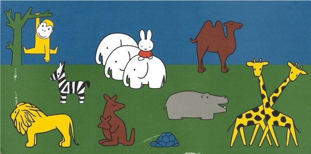 Week 101: From Marjan (Netherlands). Illustration by Dick Bruna (Miffy).