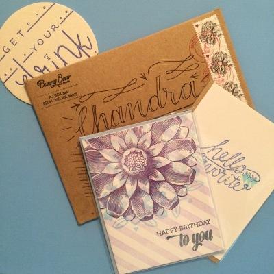 Happy Mail from Bunny Bear Press