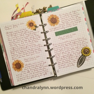 Scripture Journaling. I scripture journal inside my planner because I want to have access to the day's scripture throughout the day. I use washi tape and stickers in my faith journaling.