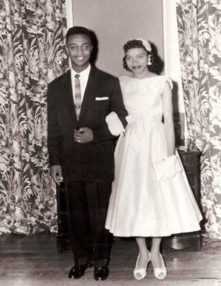 Wedding Day, 1958.