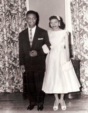 Wedding Day, 1958.