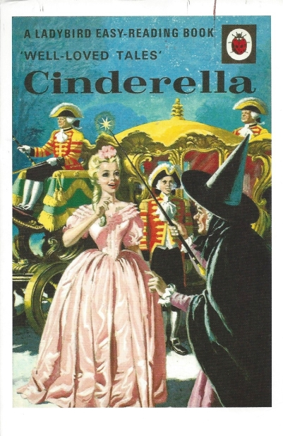 BLC PC #4: From DebR (United Kingdom)--Cinderella, 1964. Series 606-D-Well Loved Tales. By Vera Southgate, Illustrated by Eric Winter