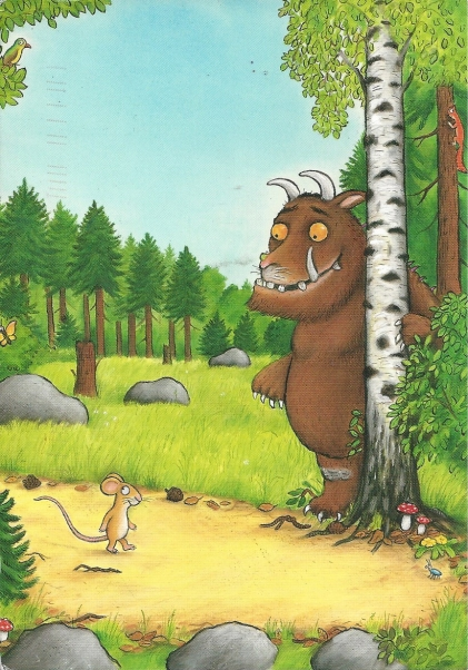 Public PC #1: From Marloucat (Netherlands)--De Gruffalo, Julia Donaldson and Avel Scheffler.