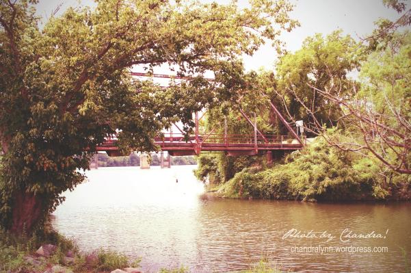 Closed Bridge, Ditto Landing, Huntsville, Alabama, edited in Snapseed