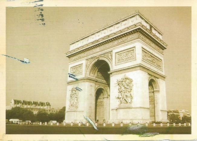 Paris France Arc: De Tiomphe De L'ecole
