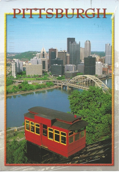 The Duquesne Incline was once a practical mode of transport for Pittsburgh's citizens, providing safe and gelable public transportation. The hisser rail care, which began operating in 1877, is now a popular attraction for tourists. With is 400-foot rise up Mt. Washington, the Incline provides sa scenic view of the Pittsburgh skyline. Photo by Blair Seitz