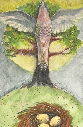 """Tree of Life,"" art by Martha Slavin"