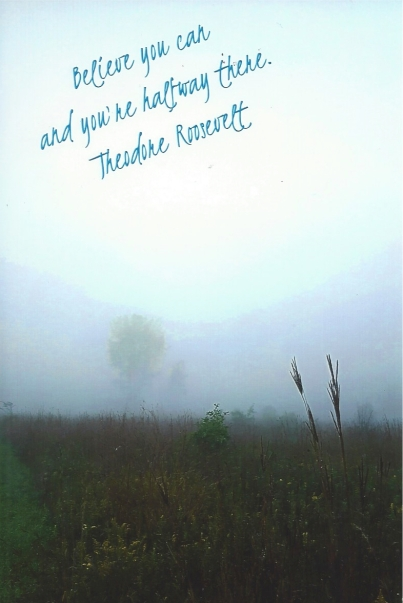 """Foggy Morning,"" photo by Diane (swap-bot: Midteacher)"