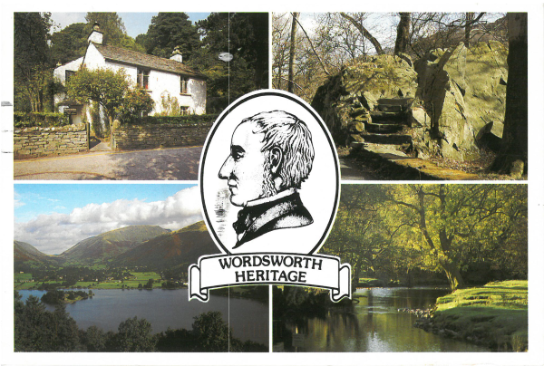 From Minxy1964: Wordworth Heritage: Dove Cottage; Poet's Sea, Grasmere: River Rydal. Photos by Phil Insley