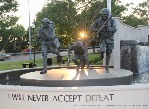 """Never Accept Defeat,"" Huntsville-Madison County's Veterans Memorial Park"