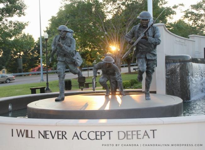 """Never Accept Defeat,"" Huntsville-Madison County's Veterans Memorial Park"