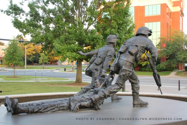 """I Will Never Leave a Fallen Comrade,"" Huntsville-Madison County Memorial Park"