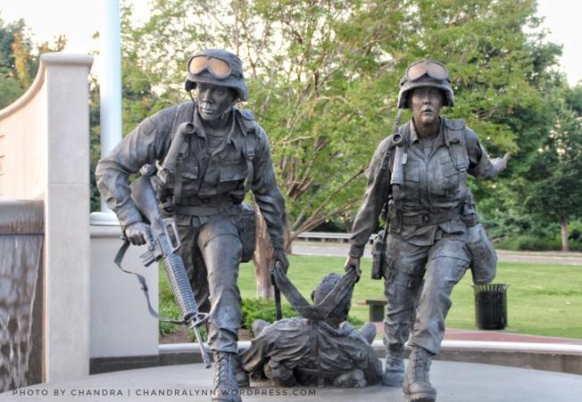 """I Will Never Leave a Fallen Comrade,"" Huntsville-Madison County Memorial Park"