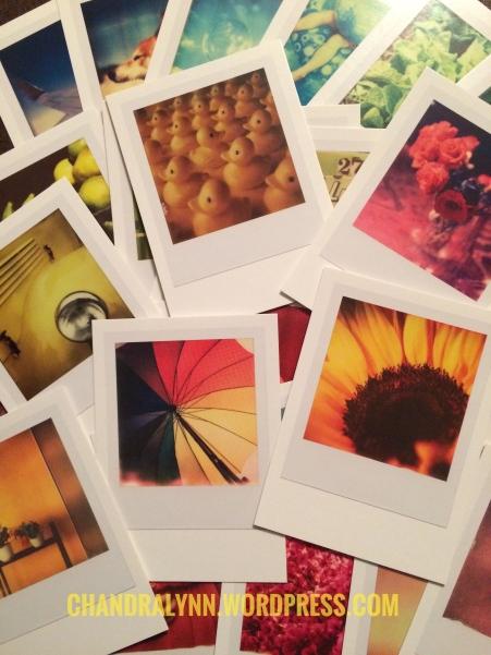 Vintage Polaroid Postcards from Spectrum