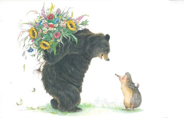 From the Big Book of Bear and Hedgehog, Ingrid & Dieter Schubert