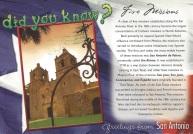 Five Missions, San Antonio, Texas