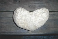 Found Heart: Rock, Photo by Kelly