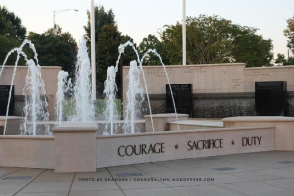 Courage Sacrifice Duty, Huntsville Memorial Park