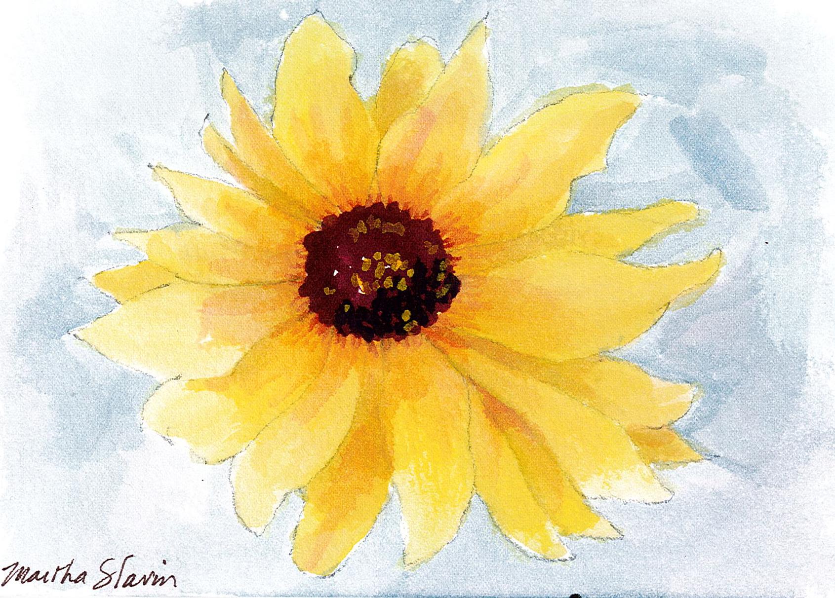 Martha Slavin Sunflower